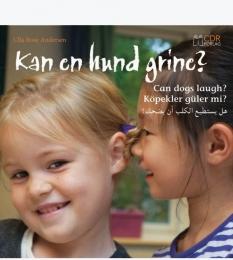 """""""Kan en hund grine?"""" - Af Ulla Rose Andersen"""